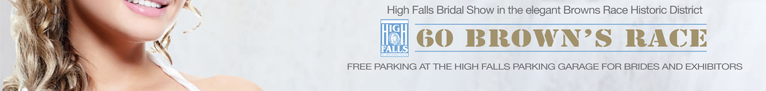 High Falls Bridal Show at the Brown's Race Historic District