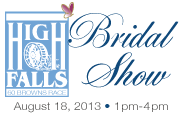 Rochester High Falls Bridal Show, August 18, 2013